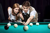 The billiards — Stock Photo