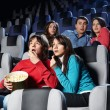 At a cinema — Stock Photo