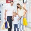 Family shopping — Stock Photo #4247770
