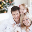 Portrait of a happy family — Foto de Stock
