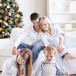 family happiness — Stock Photo