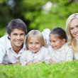 Young families - Stock Photo