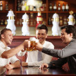 In the bar — Stock Photo