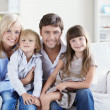 Happy family — Stock Photo #4248588