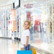 Royalty-Free Stock Photo: Little shopper