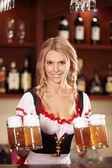 At the bar — Stock Photo