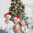 Christmas at home — Stockfoto