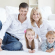Stock Photo: Family Happiness