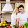 Stock Photo: On kitchen