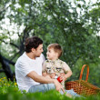 Picnic in park — Stock Photo #4512208