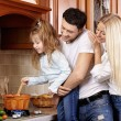 Meal preparation — Stock Photo