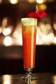 Orange cocktail — Stock Photo