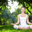 Meditation in the park — Stock Photo #4593827