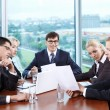 Discussion in the office — Stock Photo #4594260