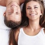 Portrait of a happy couple — Stock Photo