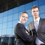 Successful businessmen — Stock Photo