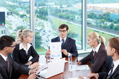 The meeting — Stock Photo