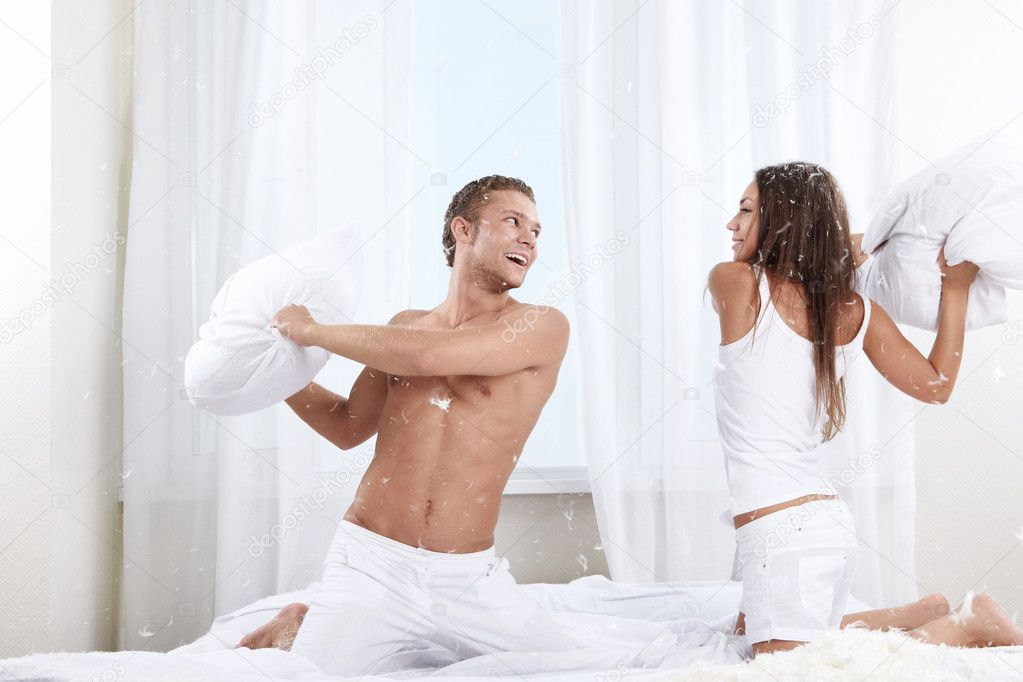 fun in the bedroom stock photo deklofenak 4604241
