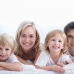 Happiness family — Stock Photo
