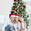 Happy New Year and Christmas! - Stock Photo