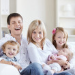 Family home — Stockfoto #4716341