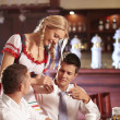 Ordering in a restaurant — Stock Photo #4716770