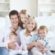 Stock Photo: Families with children