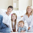 Family at home — Stock Photo #4716795