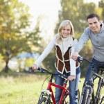 Bike tours — Stock Photo