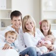 Happy family — Stockfoto #4717025