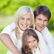 Smiling family — Stock Photo #4717082