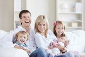Aile ev — Stok fotoğraf