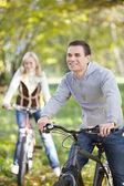 Chodí na jízdní kola — Stock fotografie