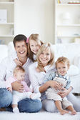 Families with children — Stock Photo