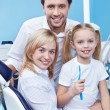 In the dental clinic — Stock Photo