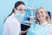 In dentistry — Stock Photo