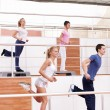 Aerobic exercise — Foto Stock