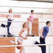 Aerobic exercise — Stock Photo