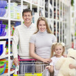Family in shop — Stock Photo #5039934