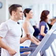 The fitness club — Stock Photo