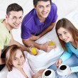Party at home — Stock Photo #5040133