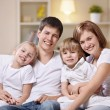 Family at home — Stock Photo #5040153