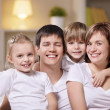 Smiling family — Stock Photo #5040184