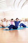 Fitness exercises — Stock Photo