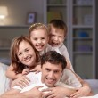 Family with children — Stock Photo #5147851