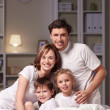 Smiling family — Stock Photo #5210023