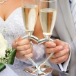 Wedding glasses — Stock Photo #4158155