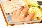Wedding book — Stock Photo