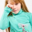 Studio shot of pretty little girl — Stock Photo