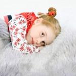 Studio shot of pretty little girl — Stock Photo #4522879